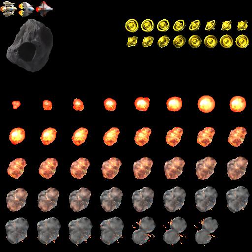 asteroids sprites player - photo #40